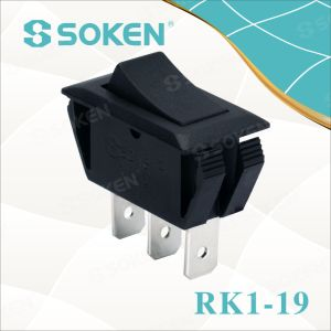 Soken Rk1-19 1X2 on on Rocker Switch pictures & photos