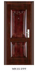Luxury Steel Door (WX-LS-299) pictures & photos