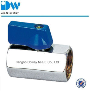 Brass Mini Ball Valve with ABS Handle pictures & photos