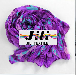 Scarf/Curtain/Polyester/New Design/Voile Fabric