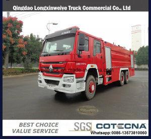 Sinotruk 8000L Water&Foam Tanker Fire Truck pictures & photos