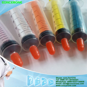 Three Parts Colorful Syringe 10ml Luer Lock with Needle pictures & photos