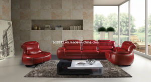 Living Room Genuine Leather Sofa (SBL-9015) pictures & photos