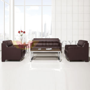 Relaxing PU Leather Sofa Office Sofa Furniture (HY-S1007) pictures & photos