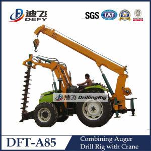 Dft-A85 Power Pole Erection Auger Drilling Machine pictures & photos