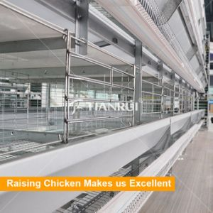 H type 4 tiers battery layer chicken cage for sale pictures & photos