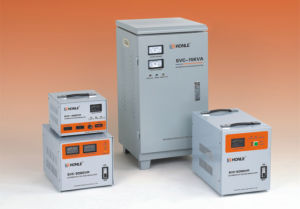 SVC Single-Phase High Accuracy Full Automatic AC Voltage Stabilizers pictures & photos