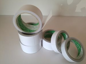 White Cotton Paper Double Sided Adhesive Tape for The Fixation of Decoration pictures & photos