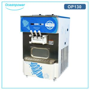 Table Top Soft Ice Cream Machine (Oceanpower OP130) pictures & photos