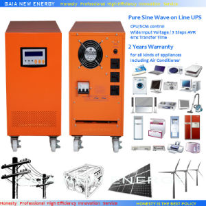 4000W Low Frequency Pure Sine Wave Inverter with Charger
