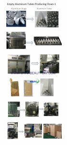 Food Packaging Tube Pharmaceutical Ointment Cream Empty Aluminum Collapsible Tube pictures & photos