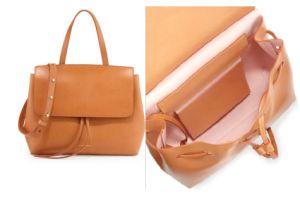 New Fashion PU Vegetable Leather Women Handbag pictures & photos