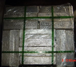 Mg Ingot High Pure Mg 99.90% Min to Mg 99.98% Max Magnesium Ingot pictures & photos