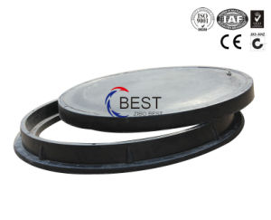 En124 Heavy Duty Sewer Round Gully SMC Manhole Cover pictures & photos