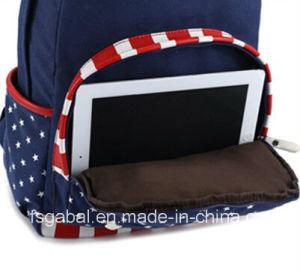 Colleague Students School Travel Canvas Rucksack Bag pictures & photos