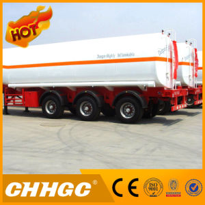 3 Axle 40cbm Oil Tanker / Fuel Tanker Semi Trailer pictures & photos