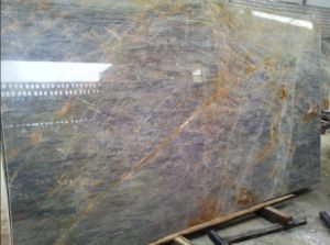 China Marble Kulun Gold Marble Slabs pictures & photos