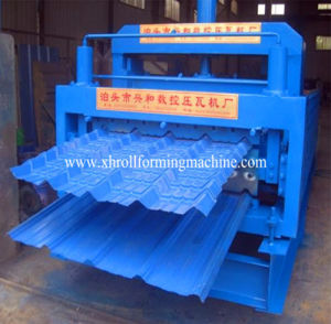 (Metal Roofing/Glazed/Steel) Tile Roll Forming Machine pictures & photos