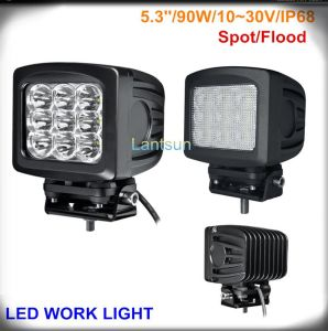 90W CREE Spot/Flood Beam LED Work Light for SUV/Truck ATV pictures & photos
