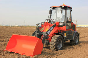 Everun Brand CE Approved Articulated 1.0 Ton Small Loader pictures & photos