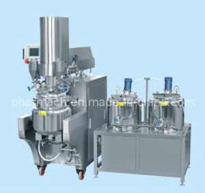 Ointment Vacuum Emulsifying Whole-Set Equipment pictures & photos