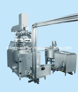 Sppository Vacuum Emulsifier Whole-Set Equipment pictures & photos