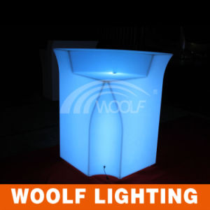 Rechargeable Glow Table Outdoor Garden Bar LED Furniture pictures & photos