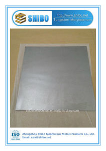 ISO Certification Factory Sale Purity 99.95% Molybdenum Sheet with Factory Price pictures & photos