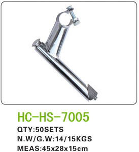 Bicycle Iron Handlebar Stem for All Kinds of Bicycle (HS-7005) pictures & photos