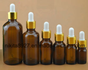 Brown Glass Essential Oil Bottle with Dropper (NDB08) pictures & photos