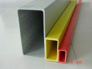 UV Protection FRP Rectangular Tube Profile, Fiberglass Rectangular Tube Profile pictures & photos