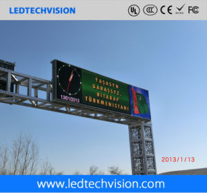 P16mm Outdoor Waterproof LED Traffic Road Sign pictures & photos
