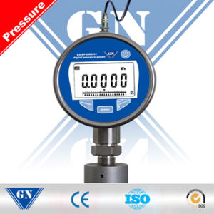 Inch Steel Plastic Digital Pressure Gauge with Safety Requirement (CX-DPG-RG-51) pictures & photos