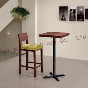 Wooden Club High Chair Bar Table Bar Furniture (SP-BT680) pictures & photos