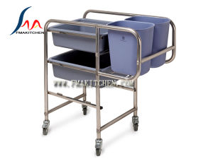 Stainless Steel Collecting Cart (Round/ Square tube) pictures & photos