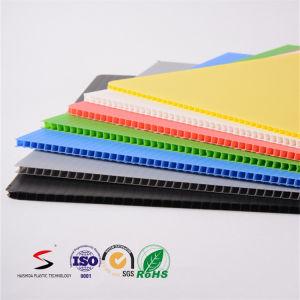 Danpla Sheet Corrugated Plastic Coroplast Sheets pictures & photos