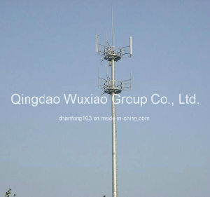 Communication, Telecommunication Monopole Steel Tower pictures & photos