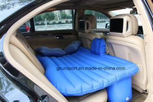 Soft Fabric Air Bed Inflatable Adult Air Car Bed for Family