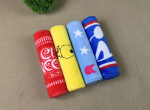 Manufacturer High Grand Cotton Customized Wholesale Printed Sport Towel pictures & photos