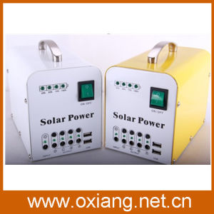 20W Small Solar DC Energy Lighting System pictures & photos