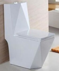 Diamond Wash Down One Piece Wc Toilet / Water Closet pictures & photos