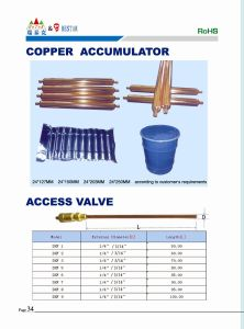 All Sizes of Refrigerator Copper Access Valve pictures & photos
