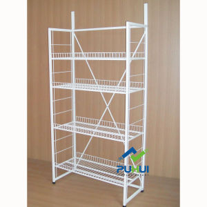 Shop Exposition Heavy Duty 4 Tiers Adjustable Metal Shelf Stand (PHY531) pictures & photos