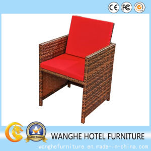 PE Rattan Outdoor Rectangle Furniture Wicker Dining Furniture Set pictures & photos
