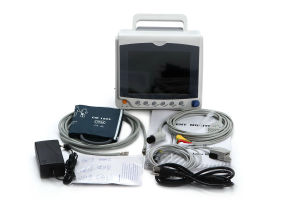Medical 10.1 Inch Portable Multi-Parameter Patient Monitor pictures & photos