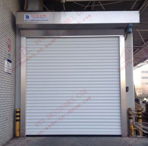 Highly Efficient Roller Shutter Garage Door (BH-SD22) pictures & photos