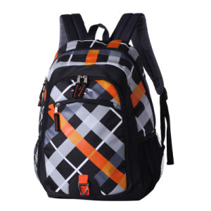 New Design Nylon Polyester Backpack School Bag (SCB0104-1) pictures & photos