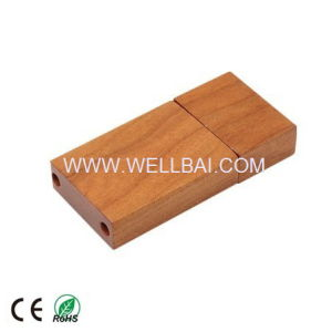 Wooden USB Memory Stick for Wholesale