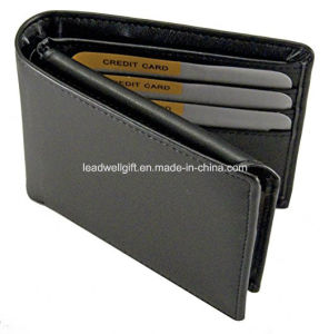 RFID Blocking Leather Mens Wallet Credit Card Identity Theft Protection pictures & photos
