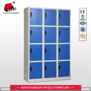 Blue Color School Use Metal Storage Locker with Key pictures & photos